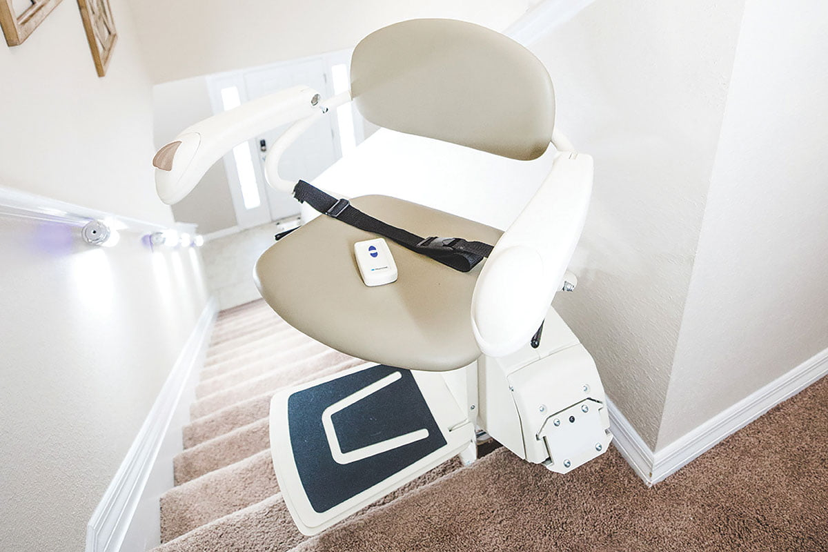 Installation of stair lift equipment